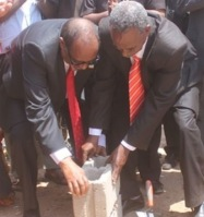 President Silanyo L jumpstarts national library construction
