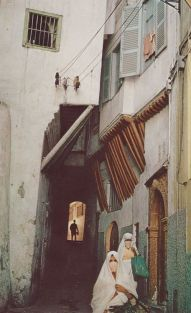 Casbah, Old Algiers National Geographic August 1973 Thomas J Abercrombie