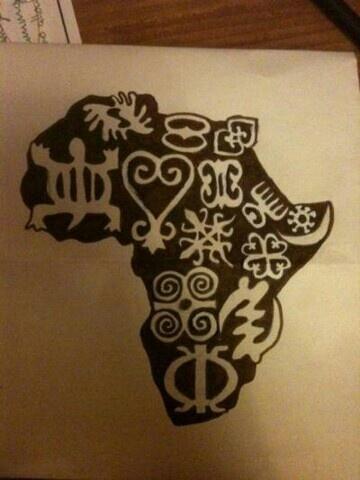 Adinkra El Valor De Los Símbolos Literafricas