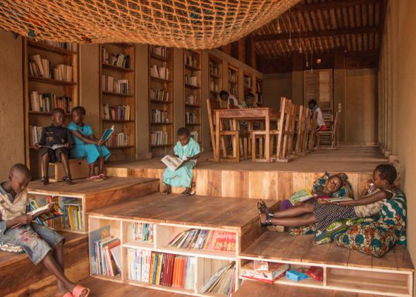 La Primera Biblioteca De Muyinga Burundi Literafricas