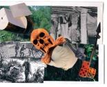"""Ilustraciones de Abraham Cruzvillegas para """"El corazón de las tinieblas"""". Editorial Sexto Piso"""