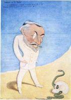 Joseph Conrad. Caricatura