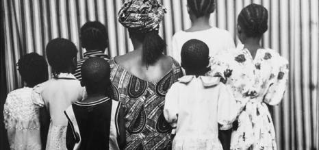 Retratos de espaldas-Malick Sidibé