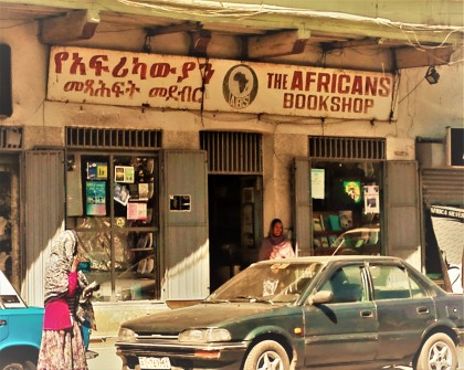 The Africans Bookshop (Addis Ababa, 2016) Foto: SFQ