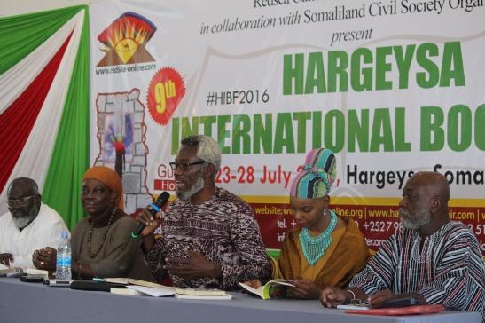 Imagen cortesía Feria del Libro de Hargeysa