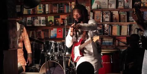 Un concierto en la librería Jazzhole de Lagos, en Nigeria. YOUTUBE