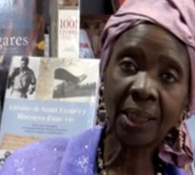 Aminata Sow Fall. Captura Youtube
