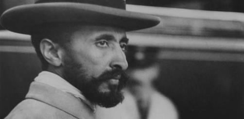 Haile Selassie by Lucien Aigner